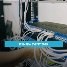 IT Infra event 2019