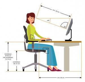 Werkplek ergonomisch